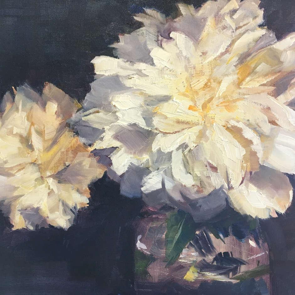 White Flowers / Sunny Lee Flack