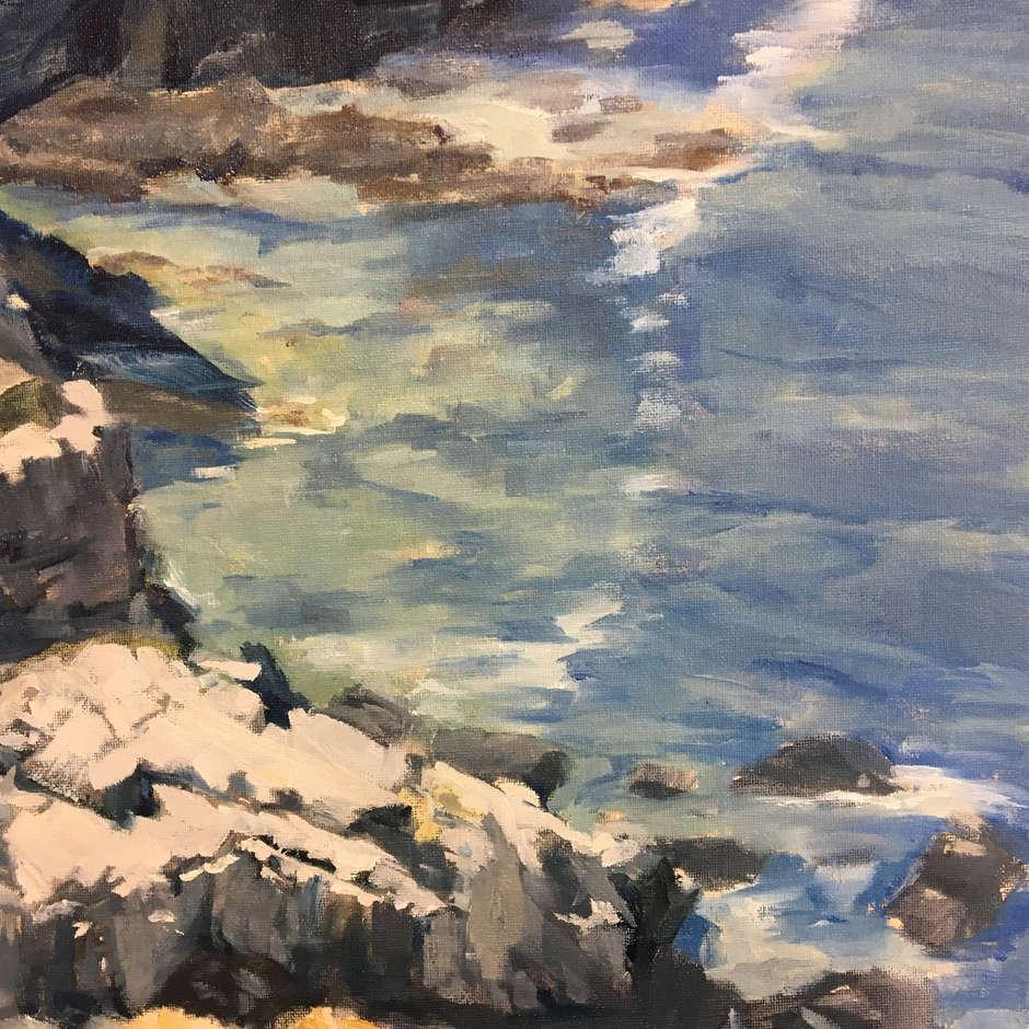 Rocky Cove / Sunny Lee Flack