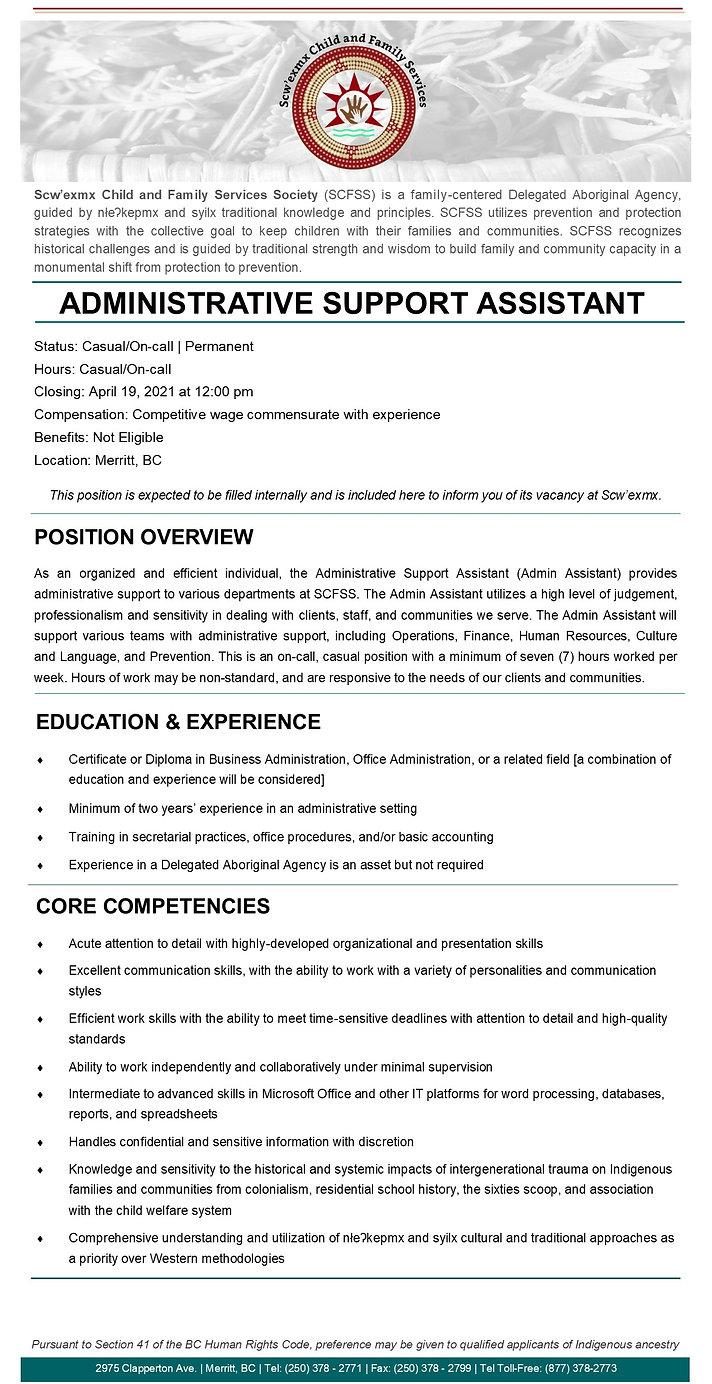 Admin Assistant Casual - 12-Apr-2021.jpg