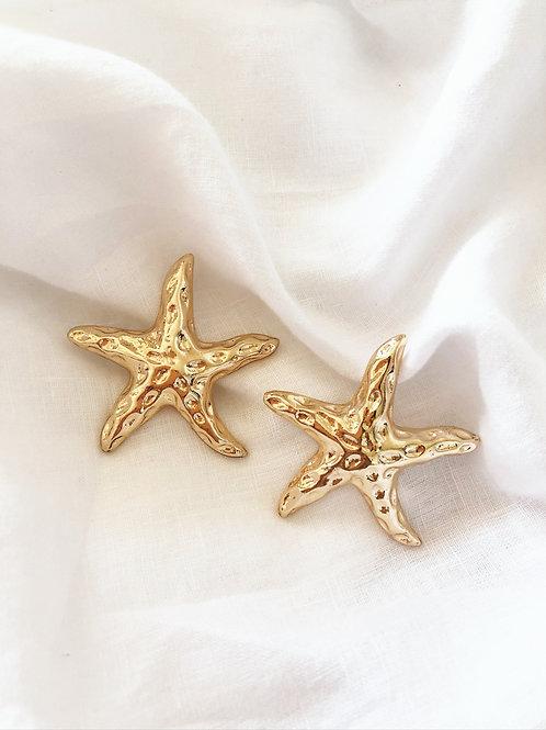 STAR SEA GOLD EARRINGS