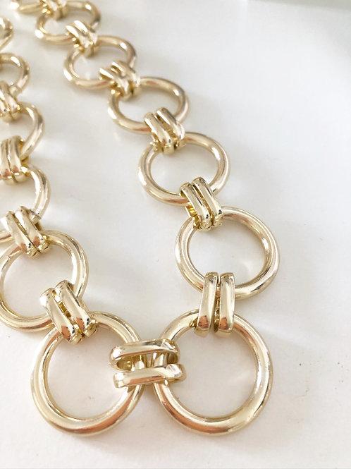 Golden Circle Necklace