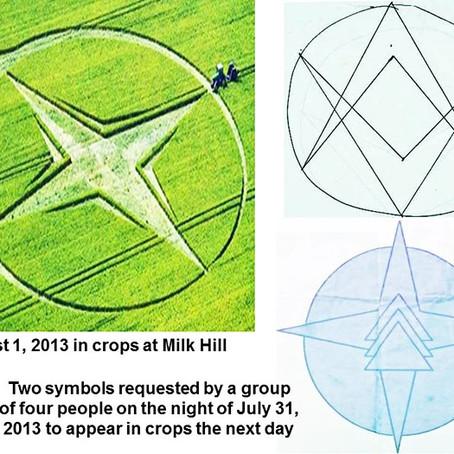 Manifesting a crop circle.