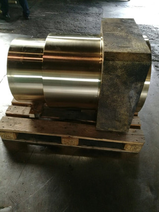 INSO Tuerca centrifugada bronce
