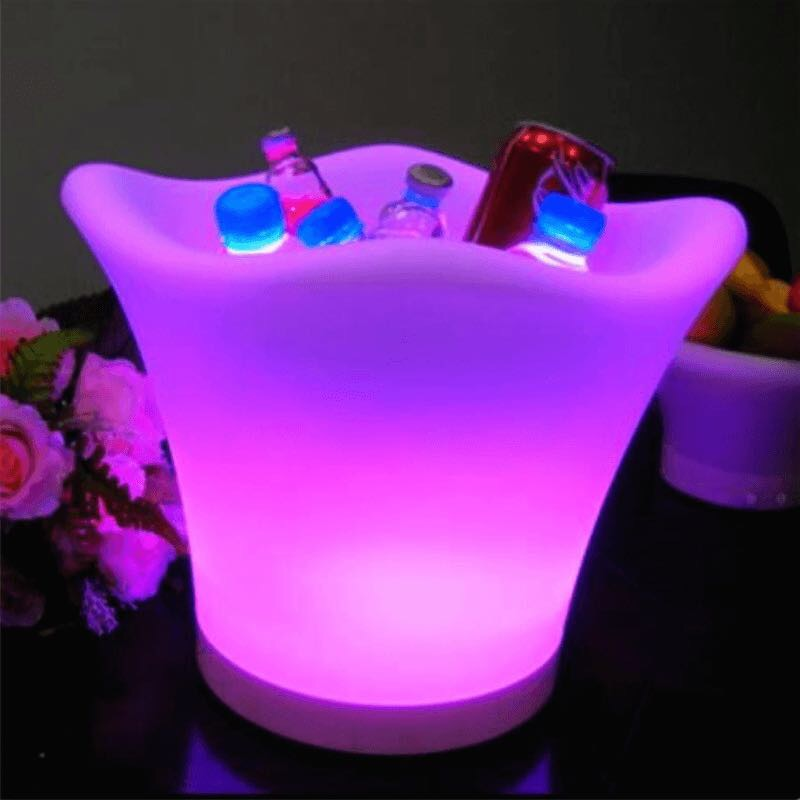 LED Ice Bucket Table Centres
