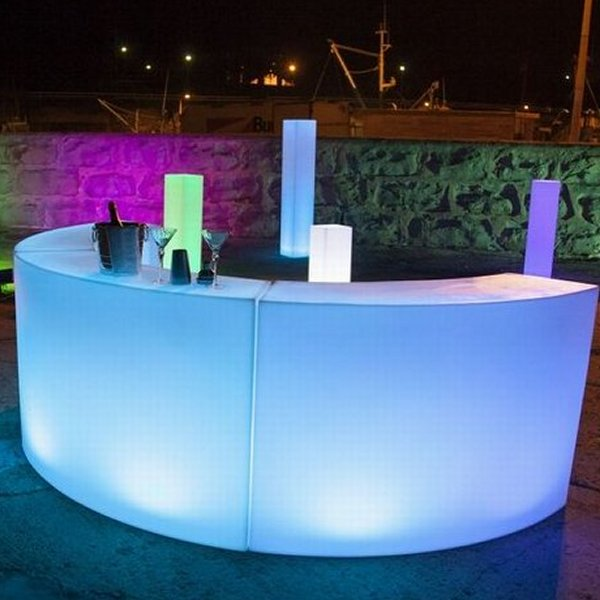 Drinks Reception LED Bar Hire