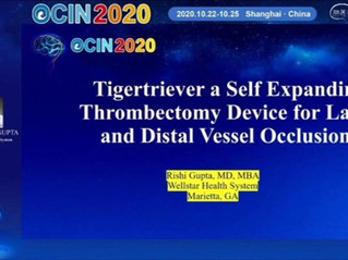 Dr. Gupta Presents Tigertriever @OCIN2020