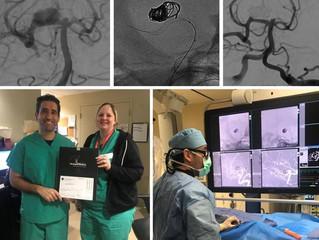 First Comaneci case at USA Health University Hospital in Mobile, AL