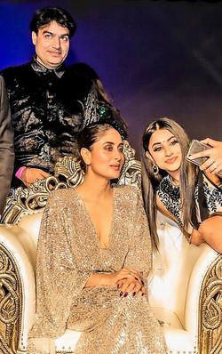 Sandeep Kumar Mishra with Kareena Kapoor at Westmead Hospital Charity dinner-Sandeep Kumar Mishra
