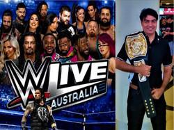 WWE  show Australia
