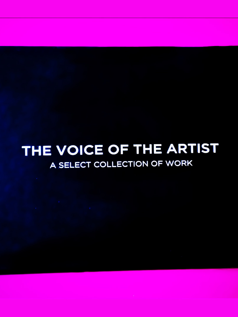 THE VOICE OF THE ARTIST