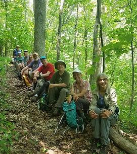 hikers on a log.jpg