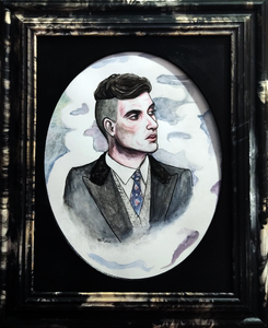 White Horse (Portrait of Cillian Murphy as Tommy Shelby)
