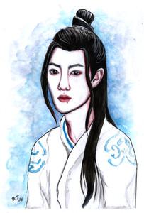 Portrait of Xiao Zhan as Wei Wuxian