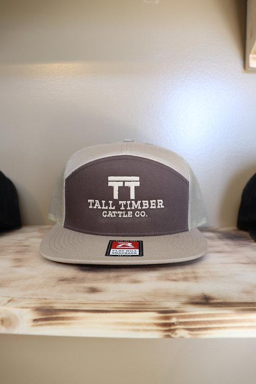 TT Cattle Co Hat - Brown