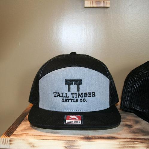 TT Cattle Co Hat- Grey & Black