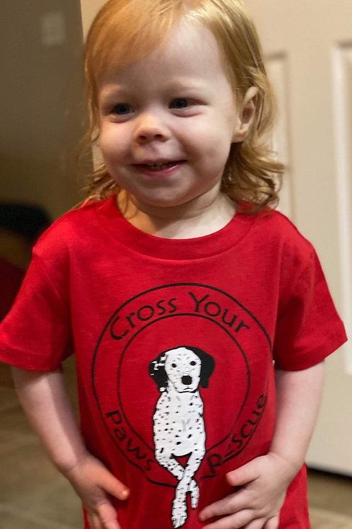 Red Little Kids T-Shirt