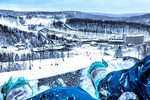 1 tip for 2 ski lift day passes at Seven Springs!! #12341
