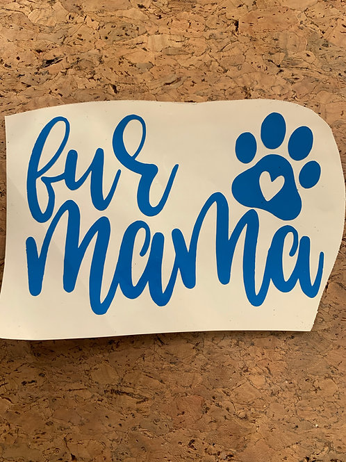 Decal_Fur Mama