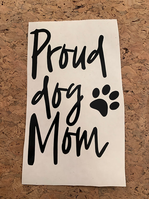 Decal_Proud Dog Mom