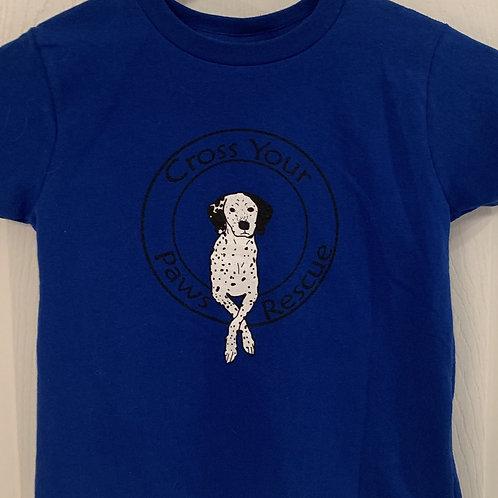 Blue Little Kids T-Shirt