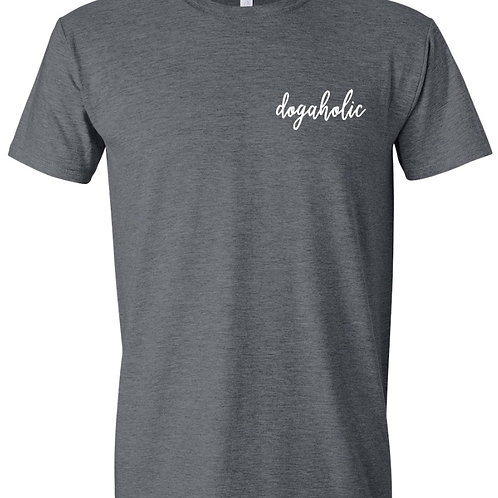 Dogaholic Grey T-Shirt