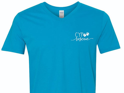Turquoise CYP V-Neck T