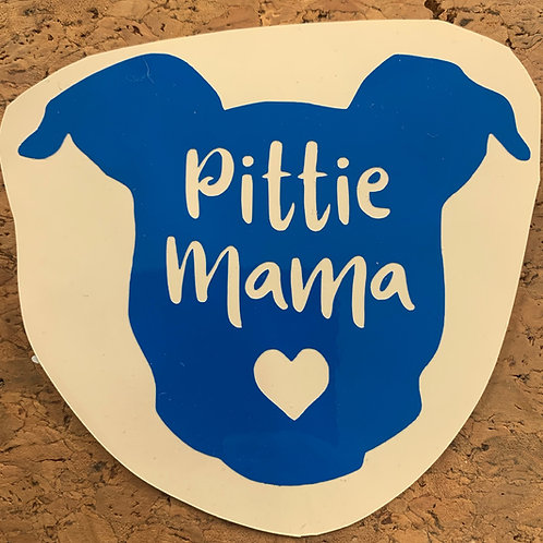 Decal_Pittie Mama
