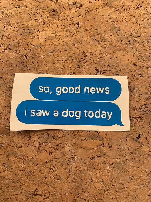 Decal_Good news...