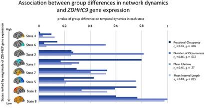 Functional network dynamics in a neurodevelopmental disorder of known genetic origin. Hawkins, Akarca, Zhang, Brkić, Woolrich, Baker, & Astle. Human Brain Mapping