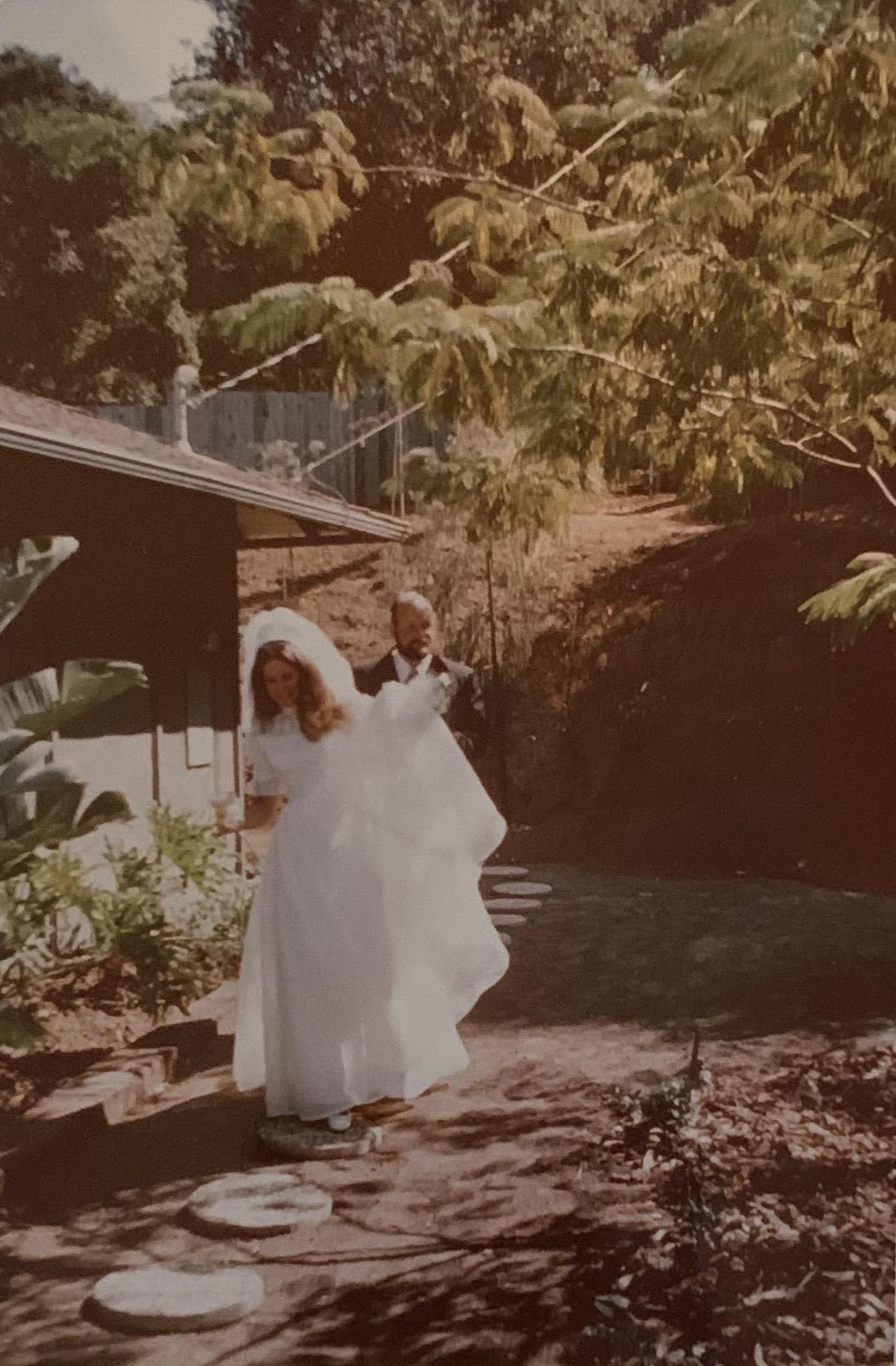 Bonny & Justin on Wedding Day
