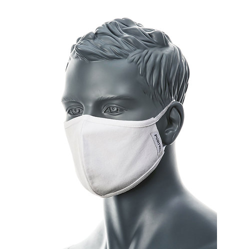 CV22 - 2-Ply Anti-Microbial Fabric Face Mask (Pk25)