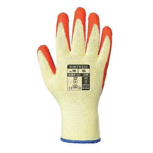 A109 - Grip Glove (with retail bag) Orange
