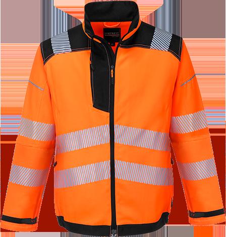 T500 PW3 Hi-Vis Work Jacket