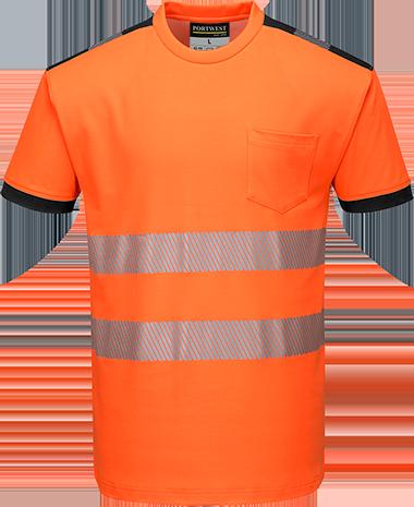 T181 PW3 Hi-Vis T-Shirt  S/S