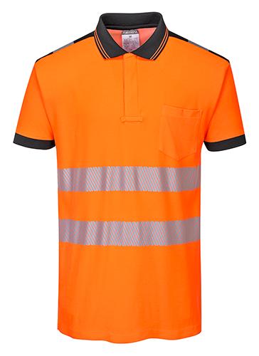 T180 PW3 Hi-Vis Polo Shirt  S/S