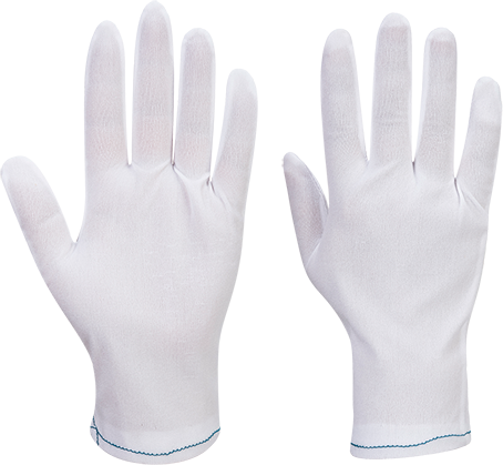A010 - Nylon Inspection Gloves (600 Pairs) White