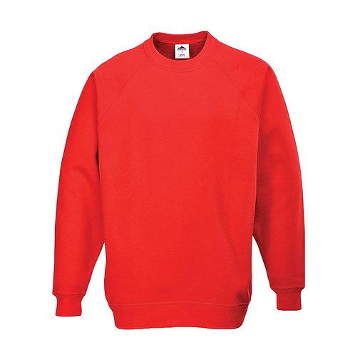 B300 - Roma Sweatshirt Red