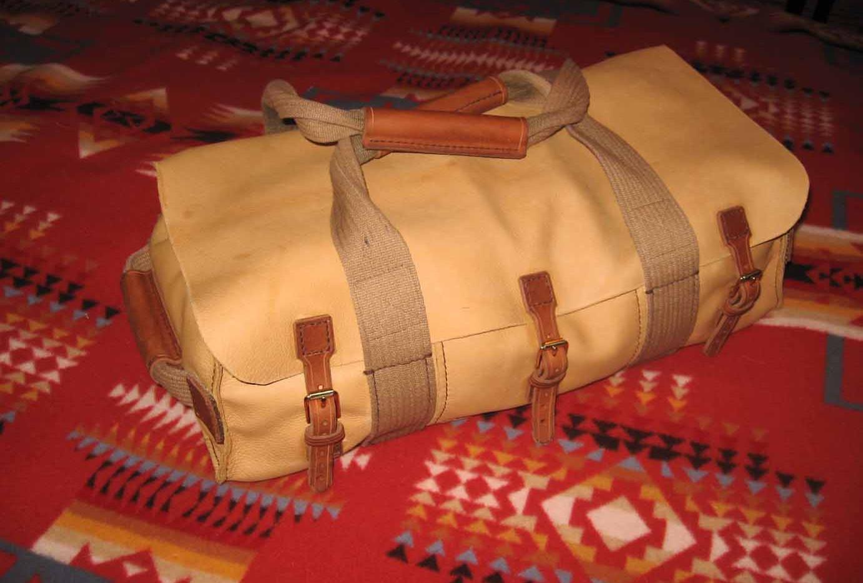 Deerskin  satchel