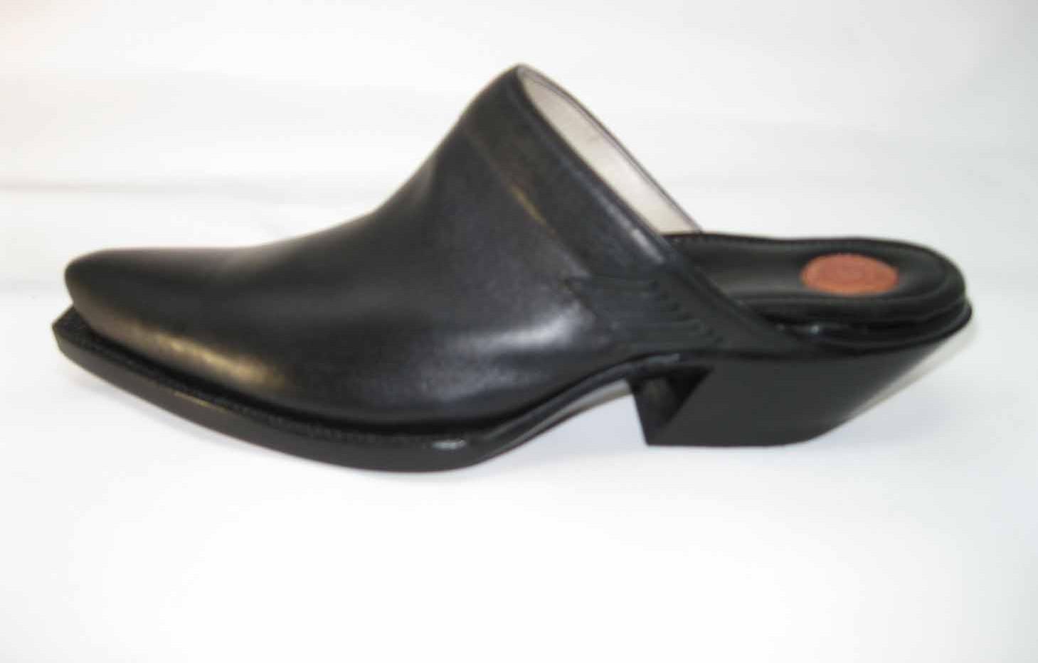 Western Mule. Love the toes and heels.
