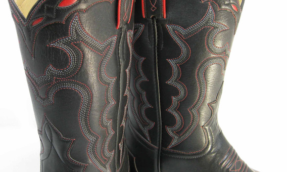 7 rows top stitching