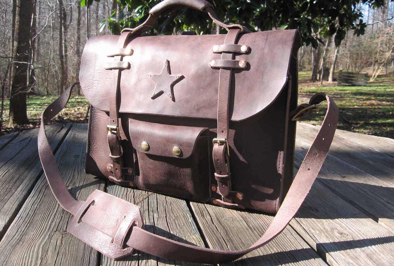 Convertable backpack and briefcase