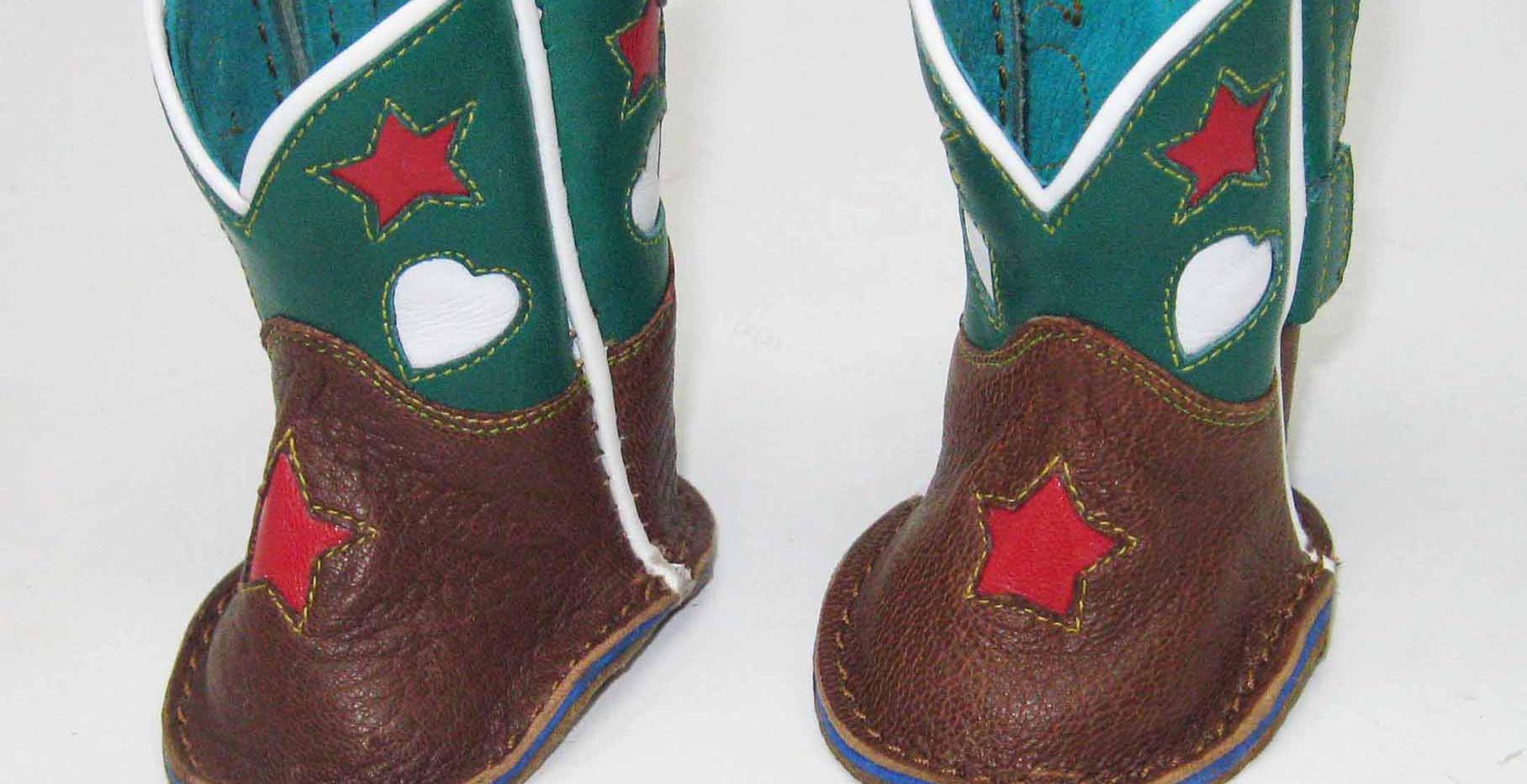 Newborn Buckaroo Boots
