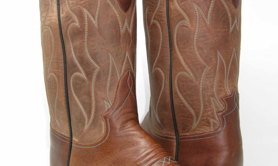 Buffalo Bottoms with 5 Rows of Top Stitching on Goat Tops.
