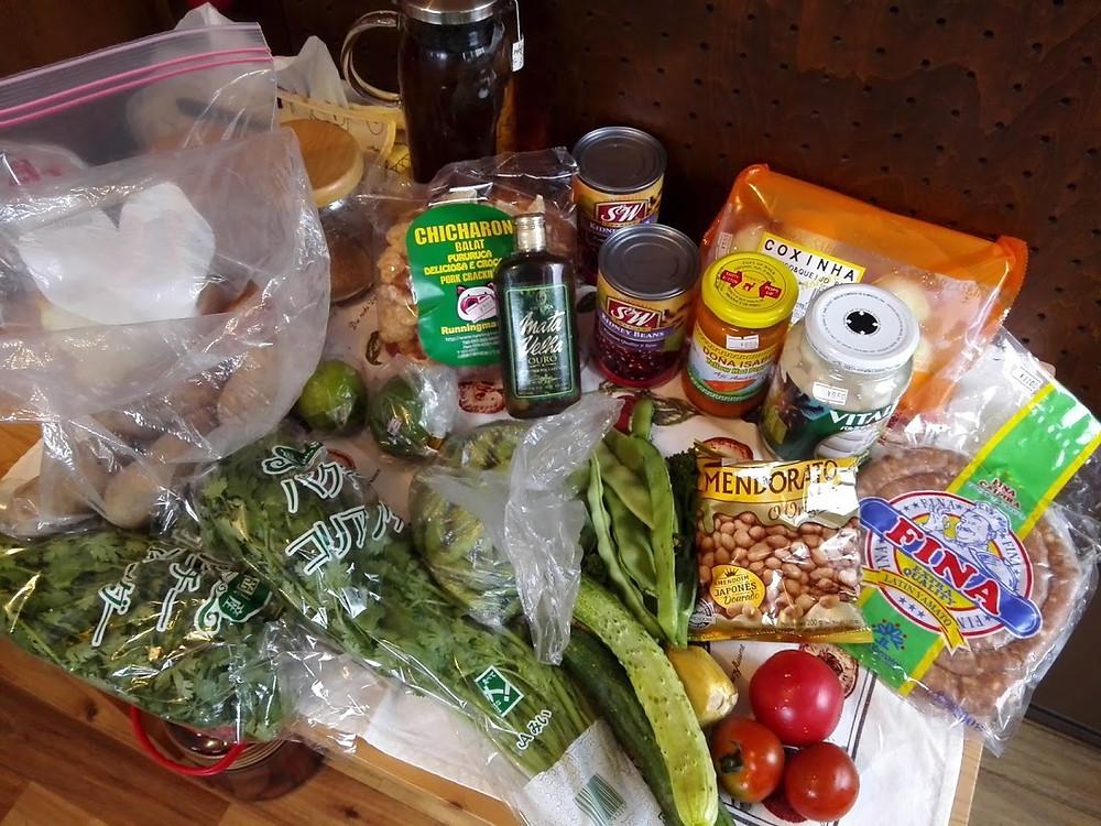 南米食材店 深江