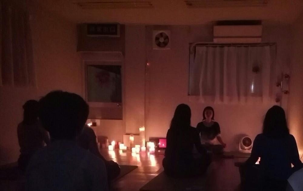 YUKTA shoa キャンドル ヨガ スタジオ 川西 宝塚