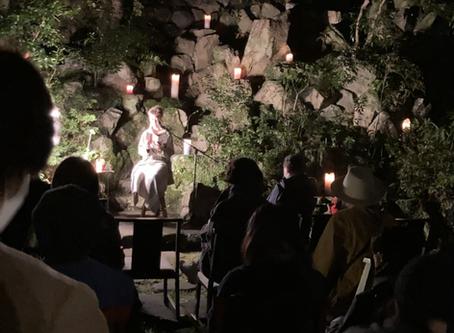 音羽山荘の夜