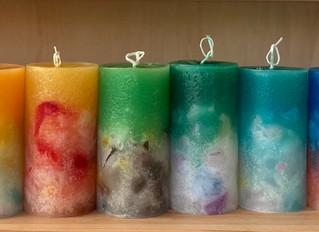 12星座をキャンドルに Astro candles