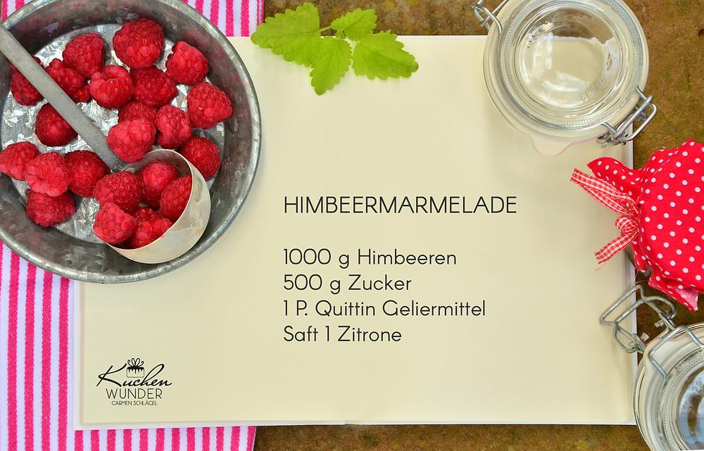 Himbeermarmelade Rezept