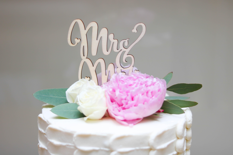 Hochzeitstorte ohne Fondant