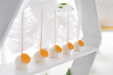Cakepops mit Goldsiegel